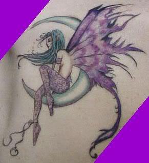 Angel Fighting Devil Tattoos