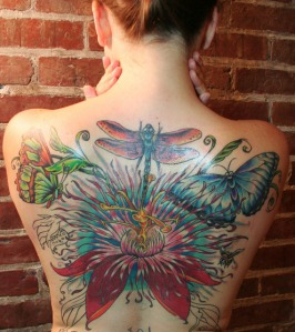 flower-and-butterfly-tattoos