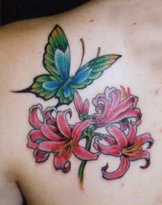 flower-butterfly-tattoos