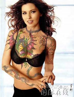 Sexy dragon Tattoo Designs dragon tattoos enjoy a massive popularity One of
